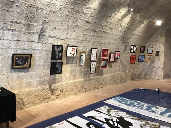 フランスから展示会の画像が送られてきました。_b0274062_20402620.jpg