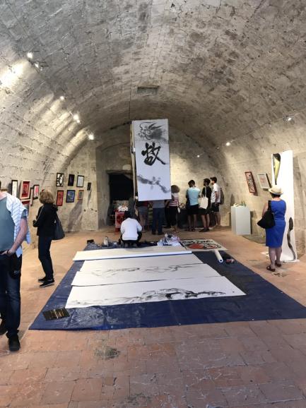 フランスから展示会の画像が送られてきました。_b0274062_20402795.jpg