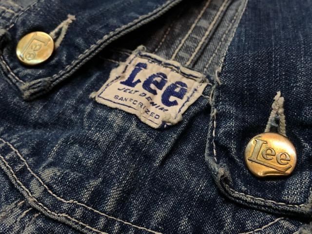 """6月5日(水)マグネッツ大阪店ヴィンテージ入荷!!#2  VintageWork編Part1 \""""Lee\""""!! 50\'s 191-Z & LowbackOverall!!_c0078587_1822495.jpg"""