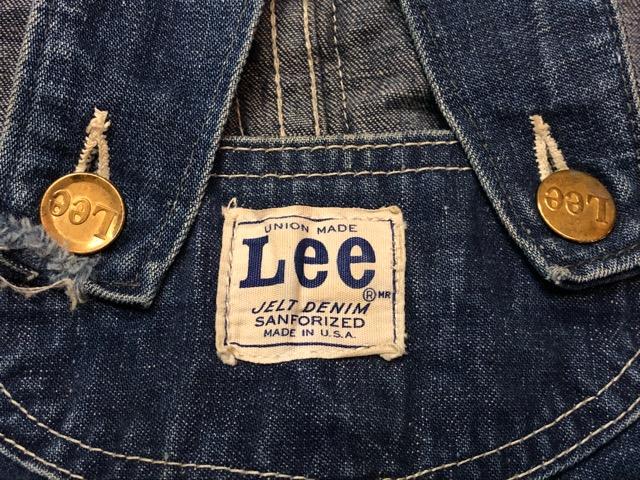 """6月5日(水)マグネッツ大阪店ヴィンテージ入荷!!#2  VintageWork編Part1 \""""Lee\""""!! 50\'s 191-Z & LowbackOverall!!_c0078587_18253457.jpg"""
