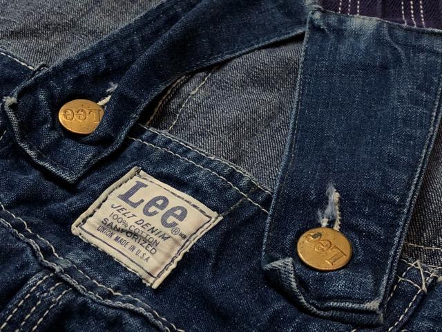"""6月5日(水)マグネッツ大阪店ヴィンテージ入荷!!#2  VintageWork編Part1 \""""Lee\""""!! 50\'s 191-Z & LowbackOverall!!_c0078587_18273187.jpg"""