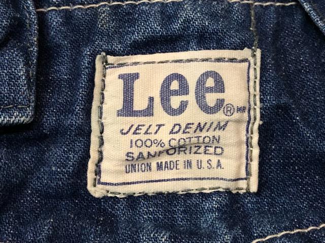 """6月5日(水)マグネッツ大阪店ヴィンテージ入荷!!#2  VintageWork編Part1 \""""Lee\""""!! 50\'s 191-Z & LowbackOverall!!_c0078587_18293878.jpg"""