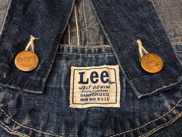 """6月5日(水)マグネッツ大阪店ヴィンテージ入荷!!#2  VintageWork編Part1 \""""Lee\""""!! 50\'s 191-Z & LowbackOverall!!_c0078587_183917100.jpg"""