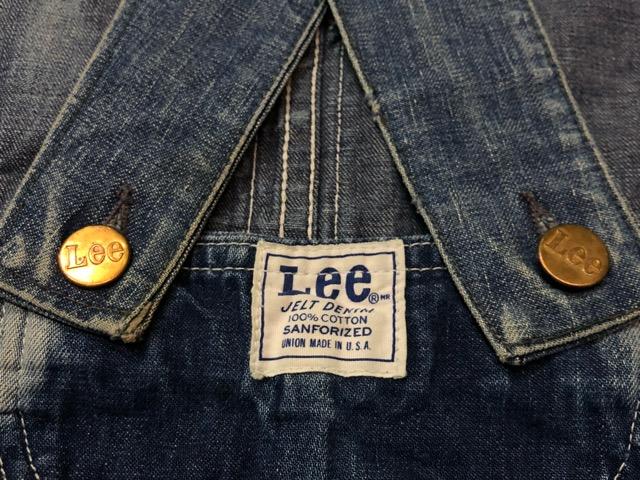 """6月5日(水)マグネッツ大阪店ヴィンテージ入荷!!#2  VintageWork編Part1 \""""Lee\""""!! 50\'s 191-Z & LowbackOverall!!_c0078587_18563667.jpg"""
