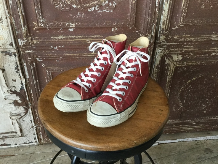 Converse All Star Leather Hi Red Made in USA_c0226387_16401361.jpeg