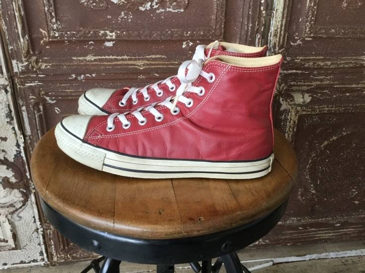 Converse All Star Leather Hi Red Made in USA_c0226387_16402843.jpeg