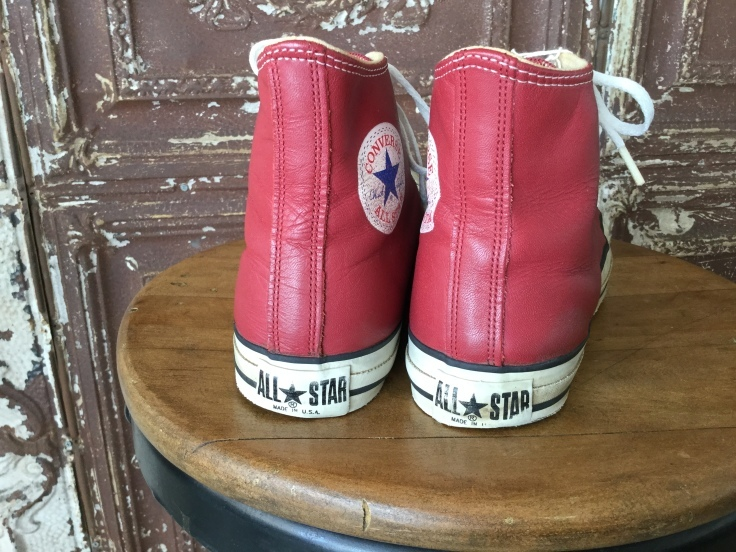 Converse All Star Leather Hi Red Made in USA_c0226387_16404521.jpeg