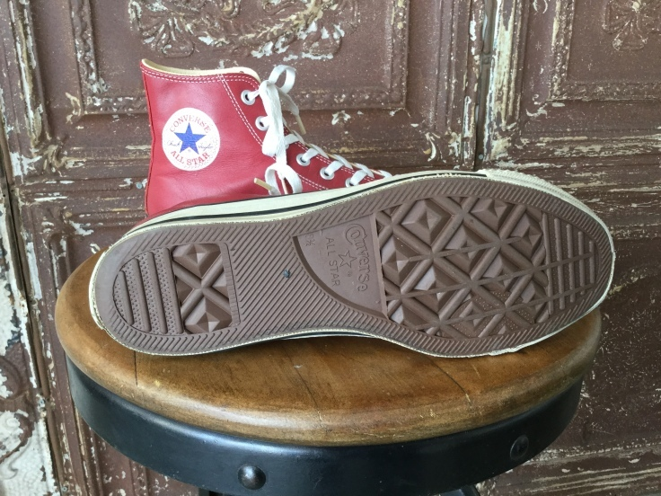 Converse All Star Leather Hi Red Made in USA_c0226387_16410787.jpeg