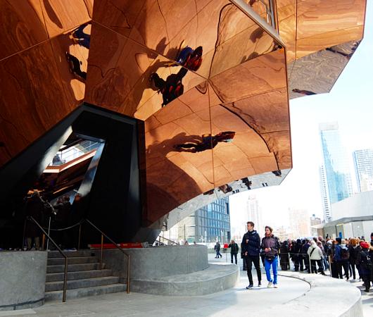 NYの新名所、体験型パブリック・アート兼スペースの『ヴェッセル』入口編_b0007805_22181141.jpg