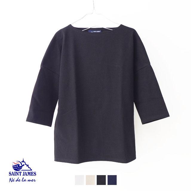 SAINT JAMES [セントジェームス] OUESSANT DROP SHORLDER [17JC CRAZ SLO] ドロップショルダー・半袖・Tシャツ・無地・MEN\'S/LADY\'S_f0051306_17173725.jpg