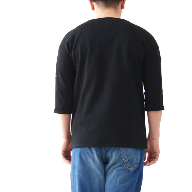 SAINT JAMES [セントジェームス] OUESSANT DROP SHORLDER [17JC CRAZ SLO] ドロップショルダー・半袖・Tシャツ・無地・MEN\'S/LADY\'S_f0051306_17173730.jpg