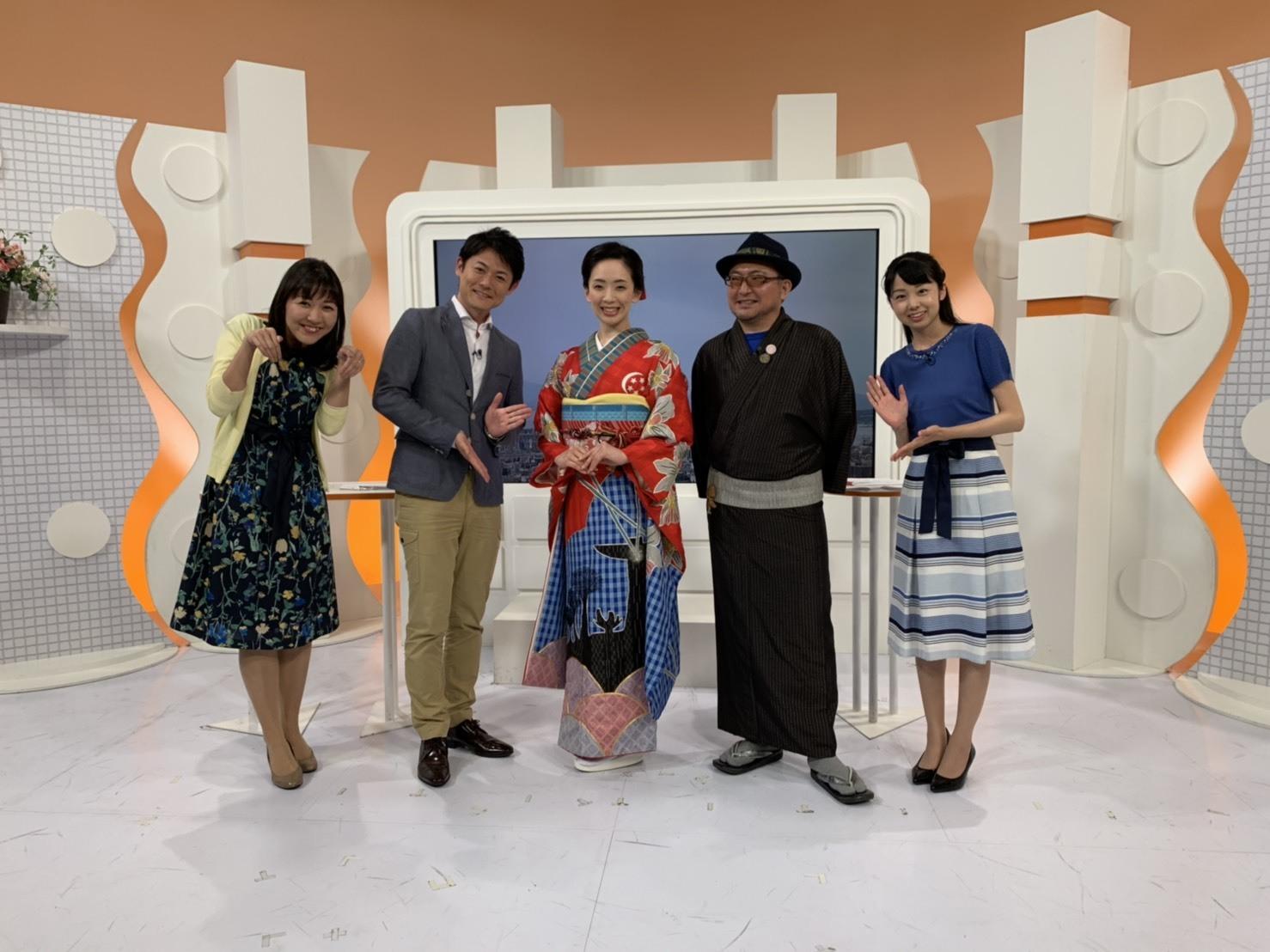 東京五輪 大島紬振袖PR 出務御報告/宮里_c0315907_11183098.jpg