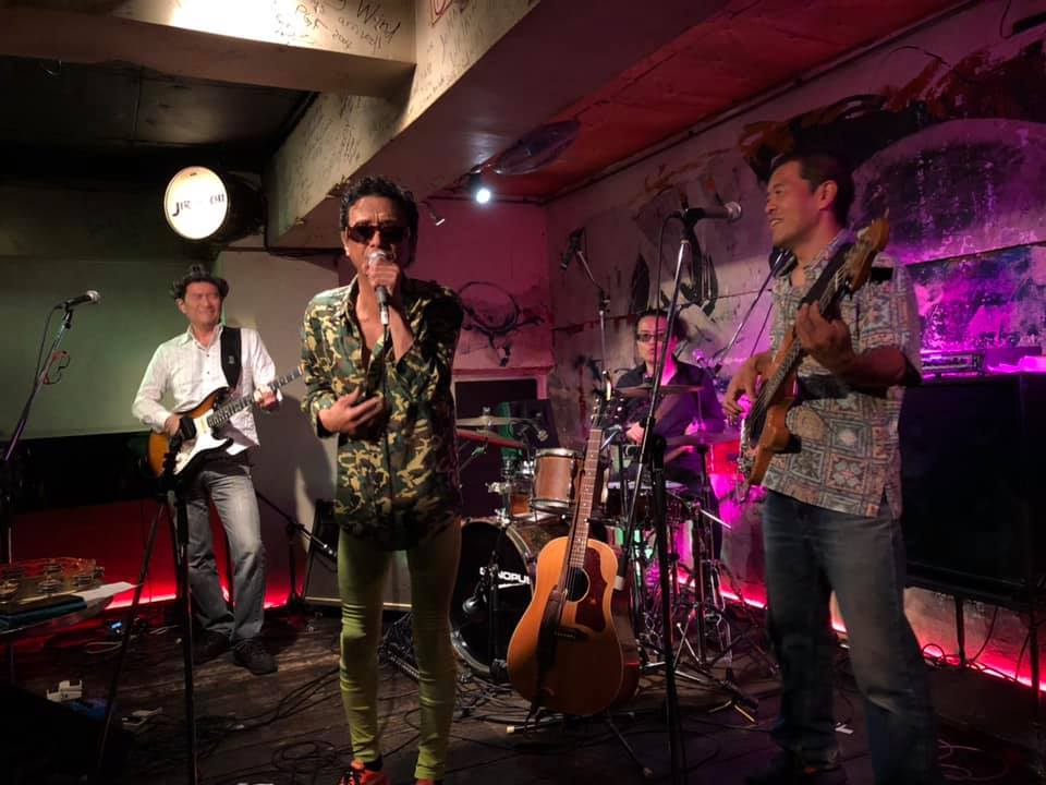 カメ&孝喜(Lonesome swamp dogs)出演/吉祥寺Chain Gang 5th anniversary party_c0132052_10341463.jpg