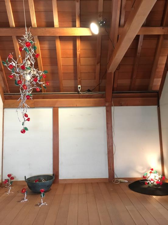 夢二生家記念館 少年山荘での個展が終了しました。_c0202869_23273746.jpg