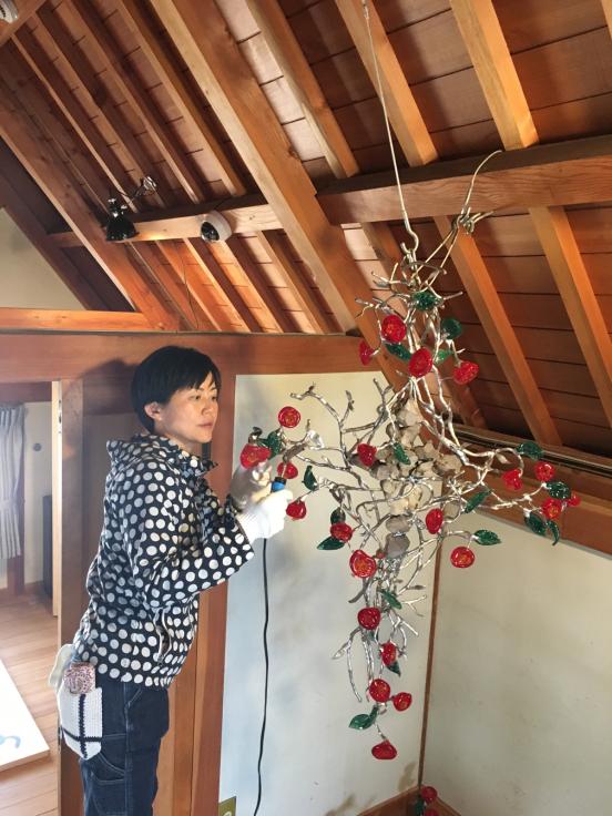 夢二生家記念館 少年山荘での個展が終了しました。_c0202869_23291193.jpg