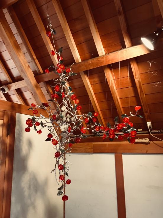 夢二生家記念館 少年山荘での個展が終了しました。_c0202869_23302898.jpg