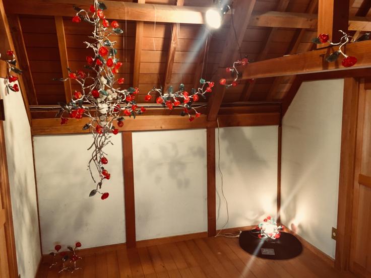 夢二生家記念館 少年山荘での個展が終了しました。_c0202869_23324007.jpg