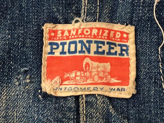 """6月5日(水)マグネッツ大阪店ヴィンテージ入荷!!#3  VintageWork編Part2 \""""Lowback & Apron\""""!! MONTGOMERY WARD & PAY・DAY!!_c0078587_13221341.jpg"""