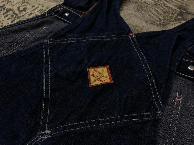 """6月5日(水)マグネッツ大阪店ヴィンテージ入荷!!#3  VintageWork編Part2 \""""Lowback & Apron\""""!! MONTGOMERY WARD & PAY・DAY!!_c0078587_13304762.jpg"""