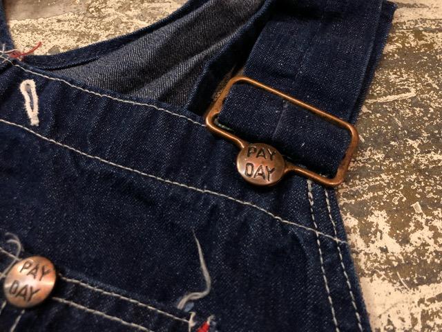 """6月5日(水)マグネッツ大阪店ヴィンテージ入荷!!#3  VintageWork編Part2 \""""Lowback & Apron\""""!! MONTGOMERY WARD & PAY・DAY!!_c0078587_13311343.jpg"""