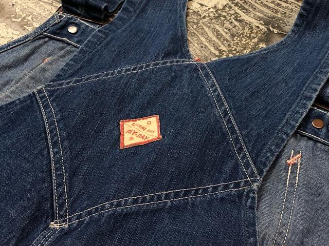 """6月5日(水)マグネッツ大阪店ヴィンテージ入荷!!#3  VintageWork編Part2 \""""Lowback & Apron\""""!! MONTGOMERY WARD & PAY・DAY!!_c0078587_1335786.jpg"""