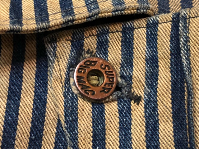 """6月5日(水)マグネッツ大阪店ヴィンテージ入荷!!#4  VintageWork編Part3 \""""Hickory & Painter\""""!! CANTBUST\'EM & SUPER BIG MAC!!_c0078587_14115098.jpg"""