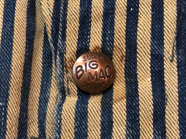 """6月5日(水)マグネッツ大阪店ヴィンテージ入荷!!#4  VintageWork編Part3 \""""Hickory & Painter\""""!! CANTBUST\'EM & SUPER BIG MAC!!_c0078587_14122141.jpg"""