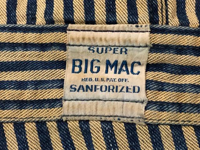 """6月5日(水)マグネッツ大阪店ヴィンテージ入荷!!#4  VintageWork編Part3 \""""Hickory & Painter\""""!! CANTBUST\'EM & SUPER BIG MAC!!_c0078587_14133942.jpg"""