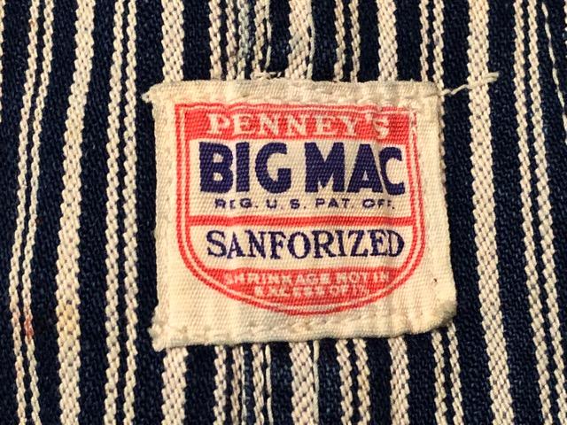 """6月5日(水)マグネッツ大阪店ヴィンテージ入荷!!#4  VintageWork編Part3 \""""Hickory & Painter\""""!! CANTBUST\'EM & SUPER BIG MAC!!_c0078587_1420952.jpg"""