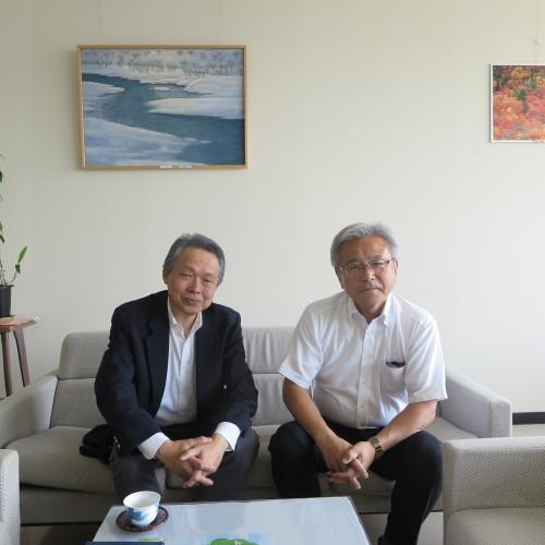 教育長 大河原真樹様、米沢市の副市長就任おめでとうございます_c0075701_16335711.jpg