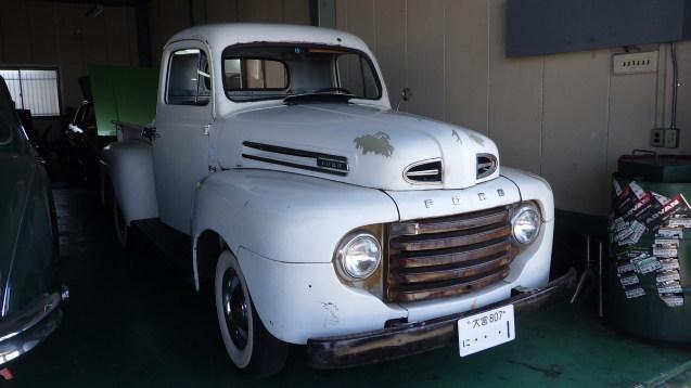 フォードF-1トラック到着_e0406102_16352482.jpg