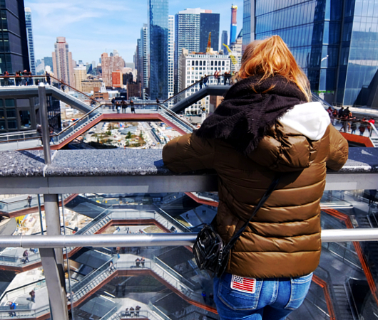 NYの新名所、ヴェッセルからみた外の景色_b0007805_00312488.jpg