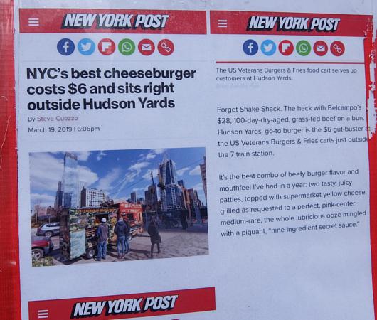 NYで最高のチーズバーガーを6ドルで食べられる屋台_b0007805_07190301.jpg