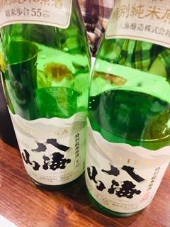 八海山特別純米10周年を勝手に祝う会_a0126418_17191065.jpg