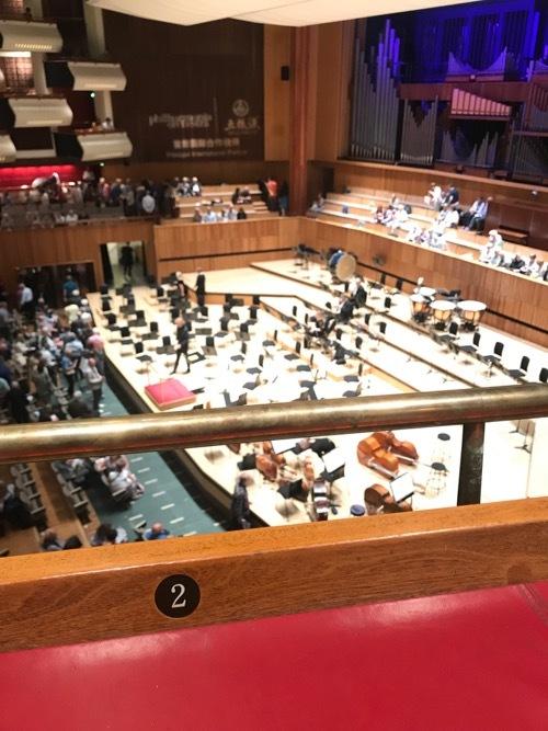 ボックス席でニコラ・ベネディッティのヴァイオリンを楽しむ♪_e0114020_18533765.jpg