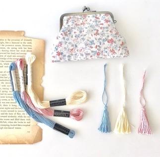 「手縫いで作るがま口作り」ワークショップ@mf collection gallery・・・♪_f0168730_19414398.jpg