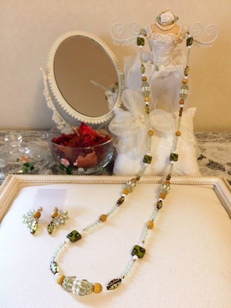 ❀Lemon Necklace & Earrings❀_c0368764_22553810.jpg