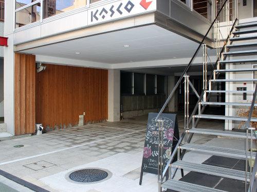 カスコ東側に広い駐車場ができました_a0039184_10434954.jpg