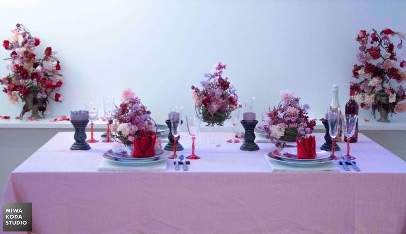 June 4, 2019 ローズガーデンのテーブル Table at Rose Garden_a0307186_07424265.jpg