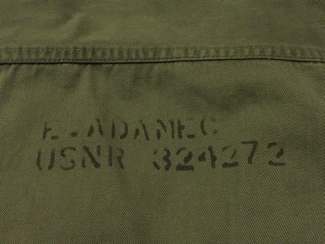 6月5日(水)マグネッツ大阪店ヴィンテージ入荷!!#8 U.S.Navy編!!ChambrayShirt & DungareeTrouser,N-3 H.B.T.Cap!!_c0078587_1553560.jpg