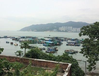 廃村を歩き、香港住宅問題を目の当たりにする☆Ma Wan\'s Abandoned Old Fishing Village_f0371533_13165689.jpg