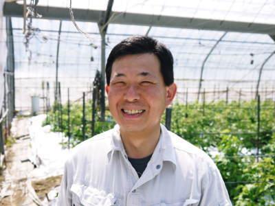 樹上完熟の朝採りトマト 令和元年の予約販売受付スタート!初回出荷は6月11日(火)です!_a0254656_18033904.jpg