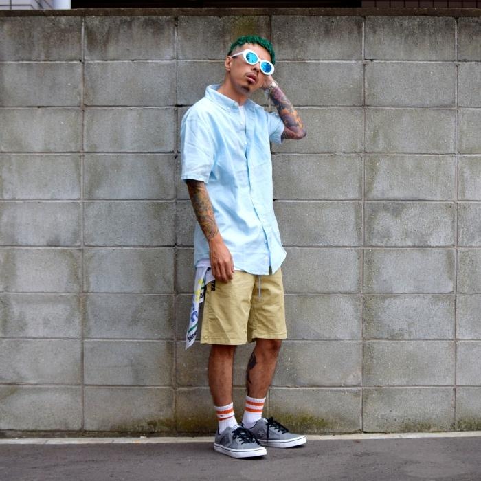 〜トレンドシャツでスケートスタイル〜_a0141274_18265989.jpg