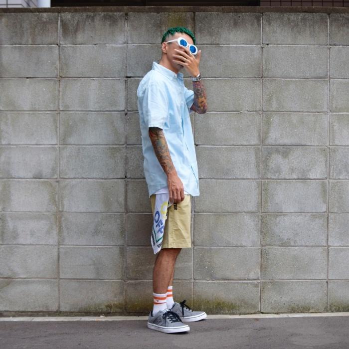 〜トレンドシャツでスケートスタイル〜_a0141274_18270594.jpg