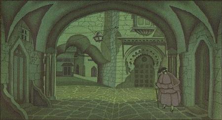 マリオ・ラボチェッタ画のホフマン物語から「砂男」_c0084183_21103917.jpg