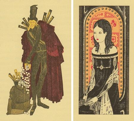 マリオ・ラボチェッタ画のホフマン物語から「砂男」_c0084183_21112359.jpg
