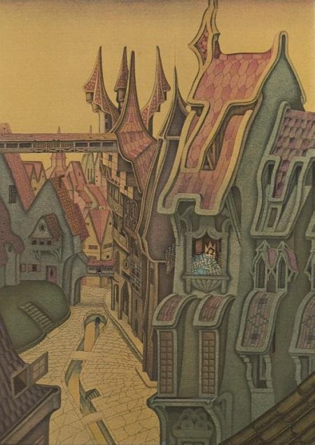 マリオ・ラボチェッタ画のホフマン物語から「砂男」_c0084183_2111253.jpg