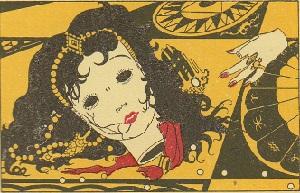 マリオ・ラボチェッタ画のホフマン物語から「砂男」_c0084183_21114060.jpg