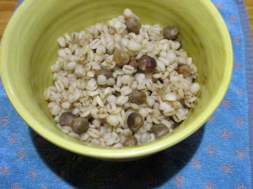 ツタンカーメン豆という名のえんどう豆。_e0341401_06235371.jpg