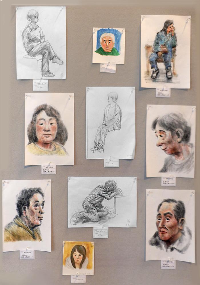 第5回人物・静物スケッチ展 展示作品のご紹介 その3_a0037907_07293970.jpg